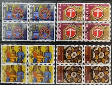 1981 Werbemarken Viererblock ET-Stempel MiNr: 1206-1209