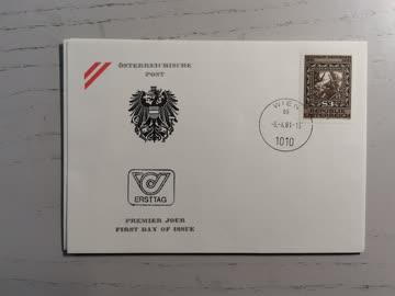 1981 FDC Geburtstag Wilhelm Dachauer MiNr: 1666