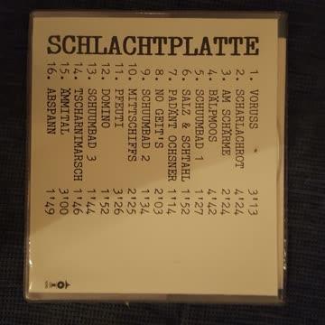 Patent Ochsner - Schlachtplatte
