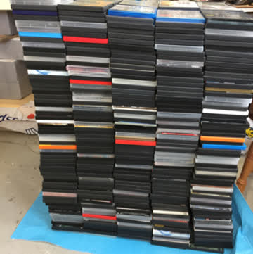 Über 1000 Dvds