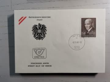 1980 FDC Geburtstag Alfred Wegener MiNr: 1661