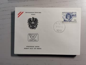 1980 FDC Geburtstag Alfred Wegener MiNr: 1660