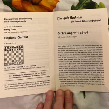 Die Eröffnung der Schachpartie
