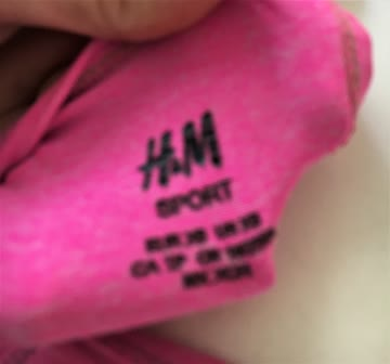 Sport Top H&M pink XS wie NEU