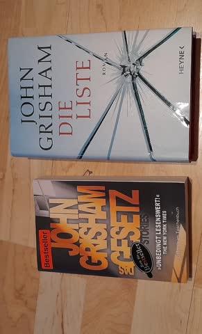 """John Grisham - """"Das Gesetz"""" & """"Die Liste"""""""