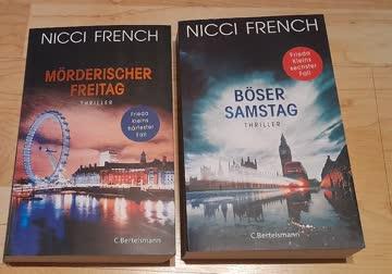"""Nicci French - """"Mörderischer Freitag"""" & """"Böser Samstag"""""""