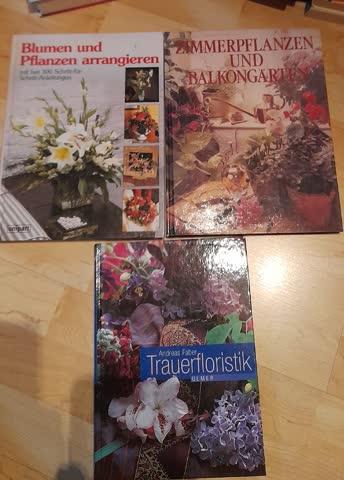 Blumen, Zimmperpflanzen - Bücher