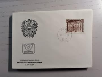 1976 FDC Verwaltungsgerichtshof MiNr: 1521