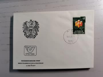 1976 FDC österreichische Impfmesse MiNr: 1517