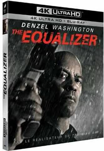 The Equalizer (4K UHD + Blu-ray) (F-Import, deutscher Ton)
