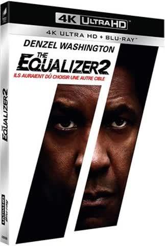 The Equalizer 2 (4K UHD + Blu-ray) (F-Import, deutscher Ton)