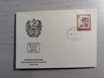 1976 FDC schönes Österreich Bildstock Reiteregg MiNr: 1506