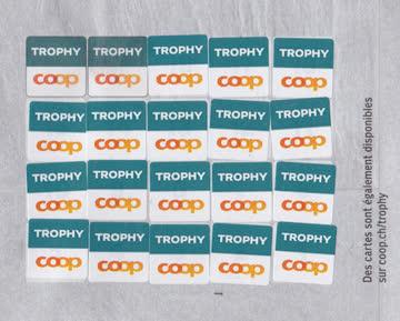 Coop Trophy Badezimmer 29 Sammelmarken