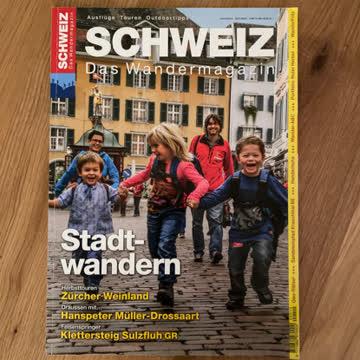 Schweiz - Das Wandermagazin