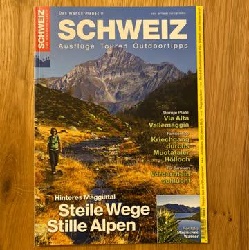 Schweiz Das Wandermagazin