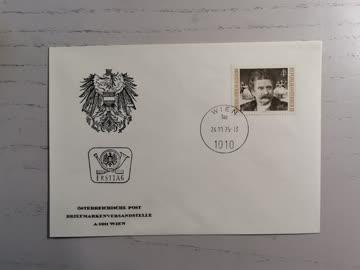 1975 FDC Geburtstag Johann Strauss MiNr: 1495