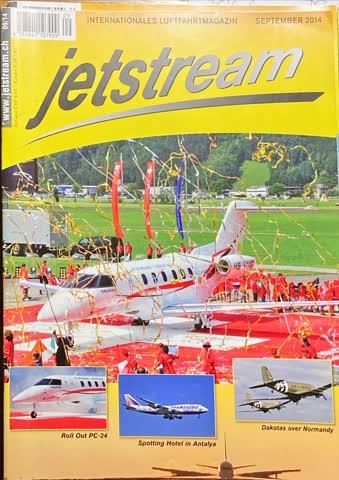Internationales Luftfahrtmagazin jetstream 09/2014