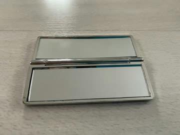 Kleiner Schmink Spiegel zum aufklappen
