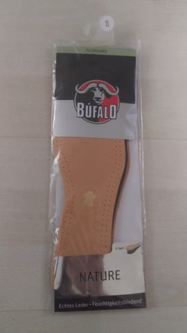 Bufalo Sohlen Leder-Sohle Grosse 42/ 43 Neu