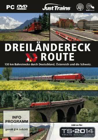 Railworks 4 Addon 3 Drei Ländereck