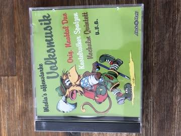 CD , Medias affenstarke Volksmusik
