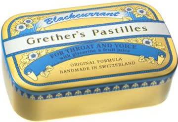 Grether's Pastilles Blackcurrant