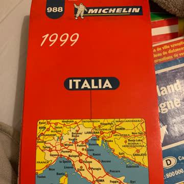 Straßenkarte Italien