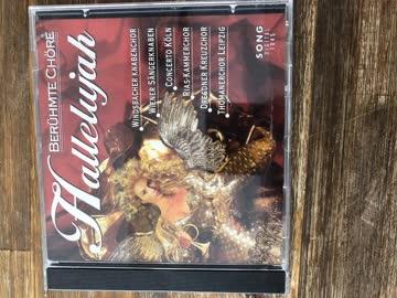 CD , Hallelujah - Berühmte Chöre
