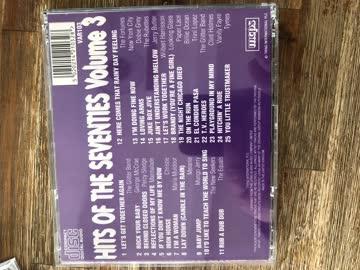 CD , Hits of the 70 , Volume Three