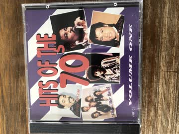 CD , Hits of the 70 , Volume One