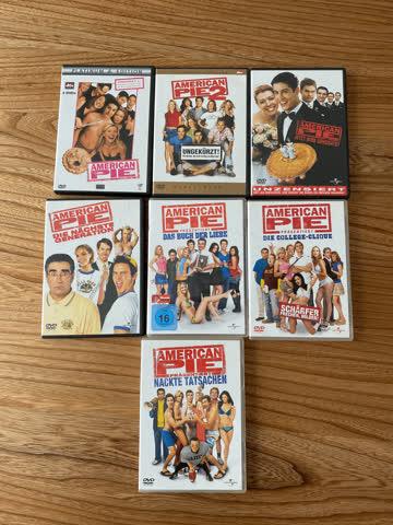 American Pie Paket Teil 1-7