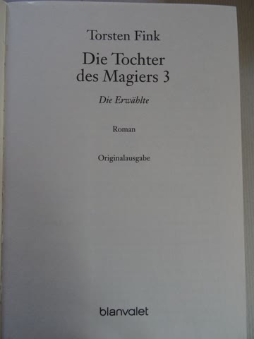 Die Erwählte - Die Gefährtin / Torsten Fink