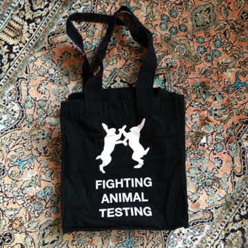 Tasche Fighting Animal Testing