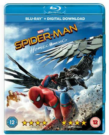 Spider-Man Homecoming (Blu-ray, 2017)