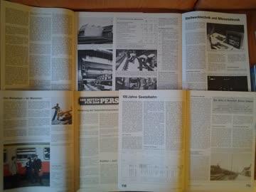 4 x SBB Nachrichtenblatt aus den Jahren 1983 / 84
