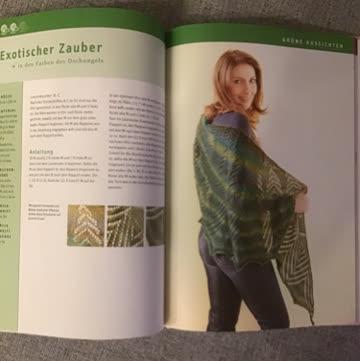 Zauberhaftes Lace Strickdesign