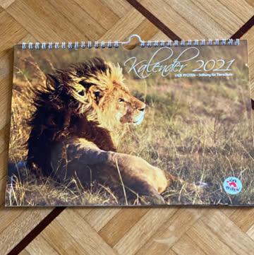 Kalender 2021 Vier Pfoten