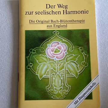 Büchlein: Der Weg zur seelischen Harmonie