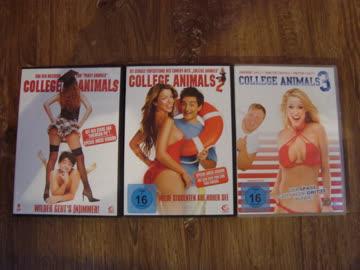 DVD Paket College Animals 1-3