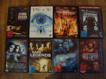 8 DVD's Paket Horror