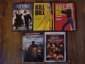 11 DVD's Paket Action