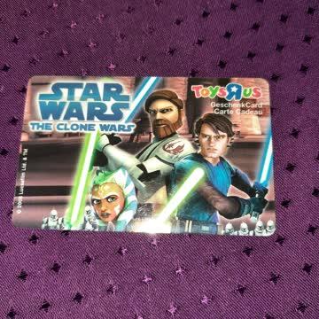 Geschenkkarte Starwars