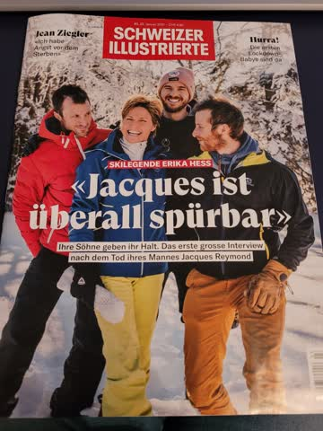 Schweizer Illustrierte Nr. 3 vom 22.1.2021