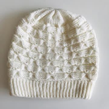 weisse Mütze