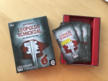Escape Spiel: Leopolds Schicksal (Leopold-Trilogie 3)