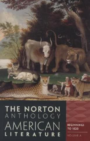 The Norton Anthology of American Literature - 8th ed