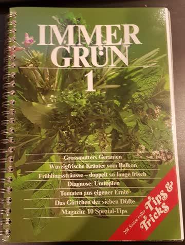 Immer grün 1, Betty Bossi Buch