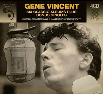 Gene Vincent - 6 classic albums plus Bonus Singles (4 CDs)