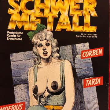Schwermetall Nr. 14. 1981