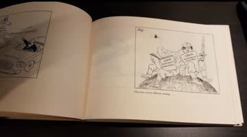 Hans Geisen, Politische Karikaturen 1968, mit Unterschrift